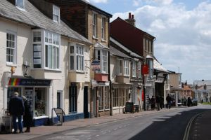 Queen Street in Southwold
