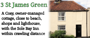 3 St James' Green, Southwold Self Catering