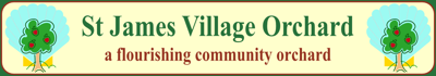 St James Village Orchard Banner