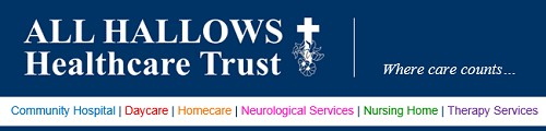 All Hallows Healthcare Trust Banner