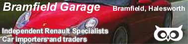 Bramfield Garage Banner