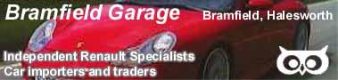 Bramfield Garage Banner