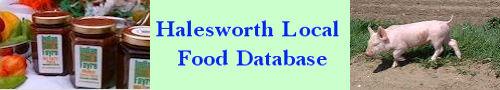 Halesworth Local Food Database