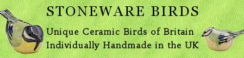 Stoneware Birds Banner