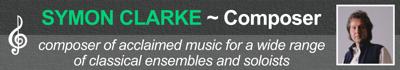 Symon Clarke Composer Banner