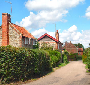 Blythburgh is now a small village in a rural setting