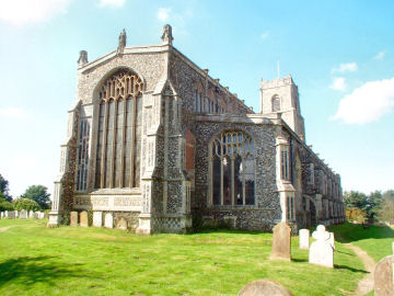 Blythburgh Church - The Cathederal of the Marshes