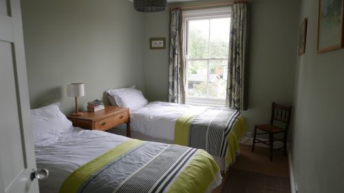 back bedroom as two singles