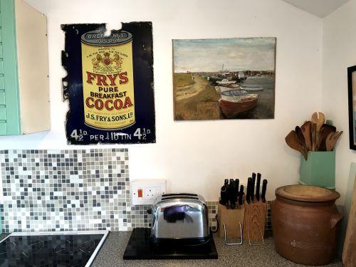 Retro-style kitchen
