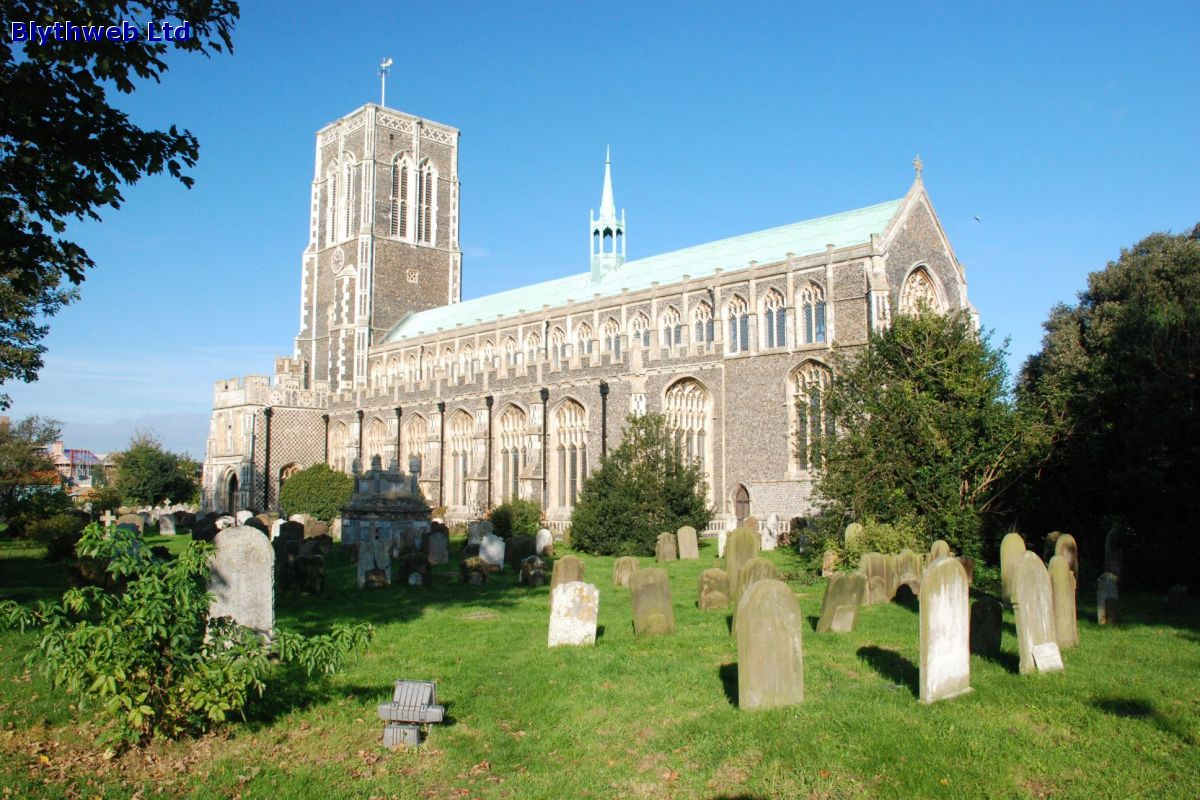 St Edmunds Church in Southwold